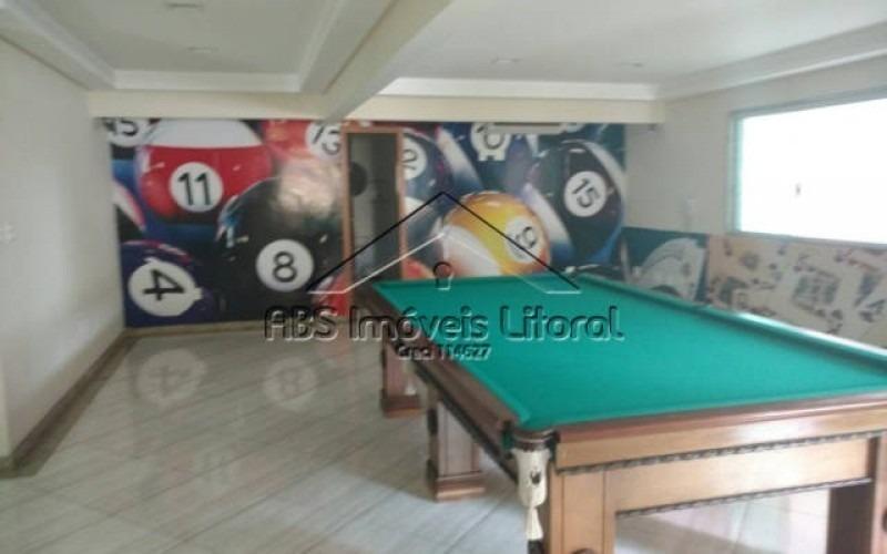 apartamento 3 dormitórios na vila tupi praia grande - sp - ap 801