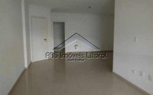 apartamento 3 dormitórios no canto do forte praia grande - sp - ap 805