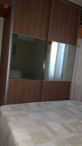 apartamento 3 dormitórios no condomínio vitória parque à venda, campos elíseos, ribeirão preto. - ap0736