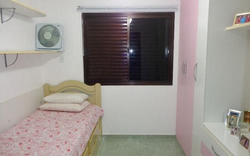 apartamento 3 dormitórios p/ venda no forte em praia grande