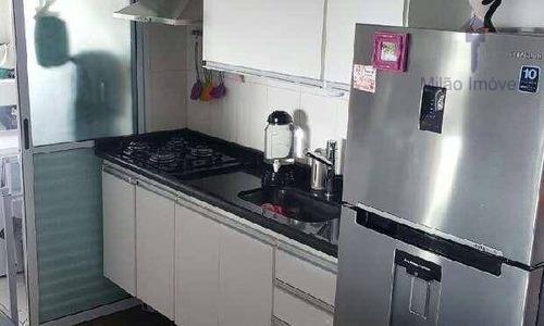 apartamento 3 dormitórios para locação, 70m², residencial evidence, vila trujillo em sorocaba/sp - ap0886