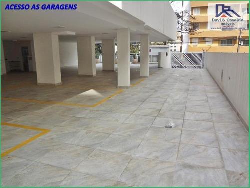 apartamento 3 dormitórios para venda em guarujá, enseada, 3 dormitórios, 3 suítes, 1 banheiro, 2 vagas - ap00092