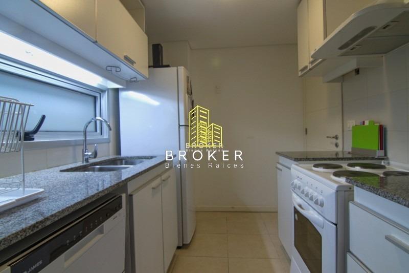 apartamento 3 dormitorios punta del este, aidy grill -ref:110