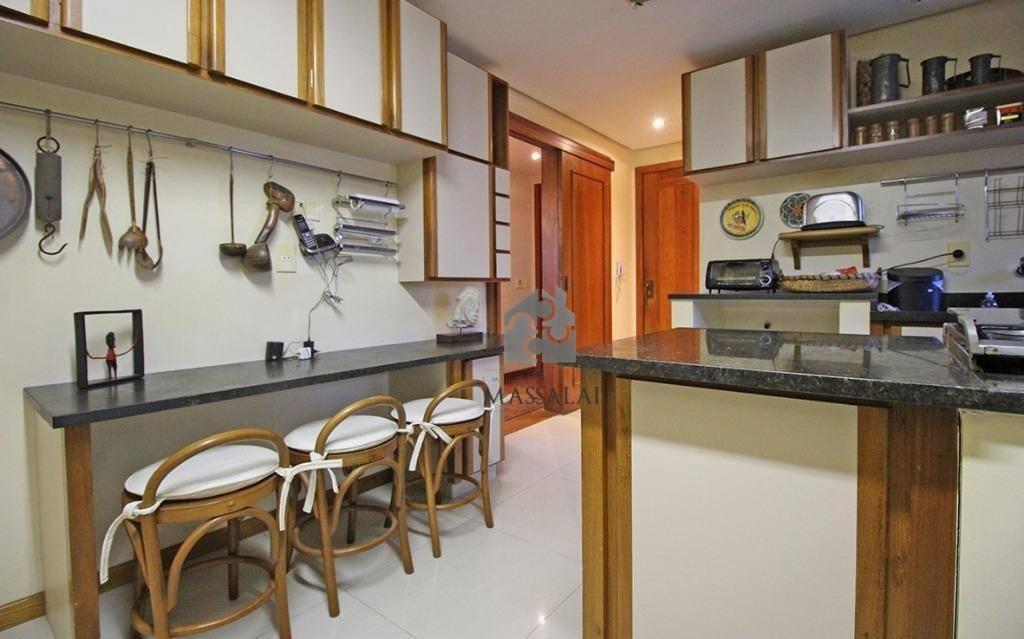 apartamento 3 dormitórios, suíte e garagem à venda, bela vista, porto alegre. - ap1219