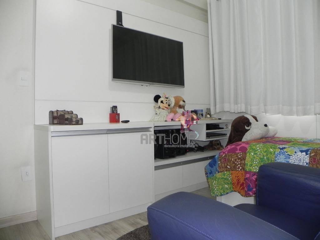apartamento 3 dormitórios à venda, 104 m² por r$ 650.000 - rudge ramos - são bernardo do campo/sp - ap1430