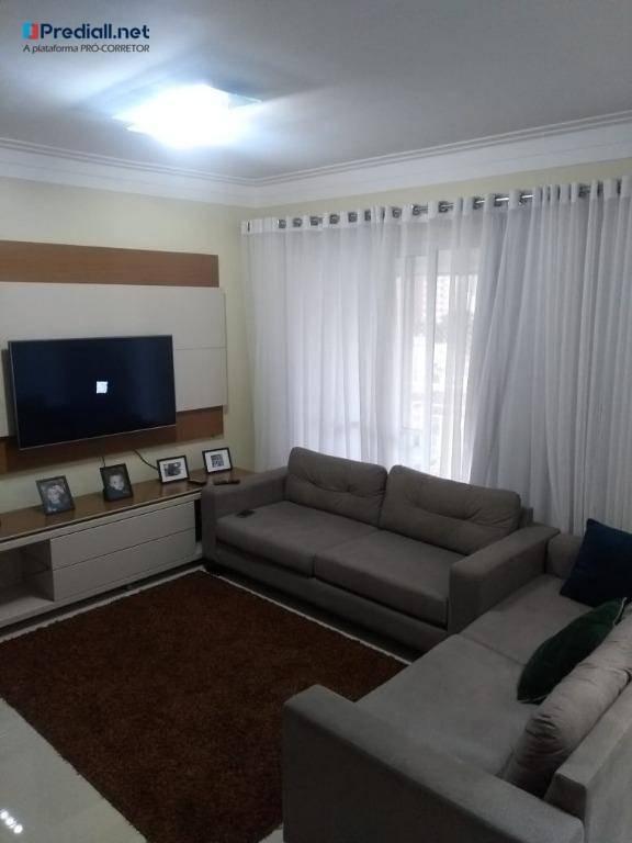 apartamento 3 dormitórios à venda, 104 m² por r$ 700 mil - lauzane paulista - são paulo/sp - ap3483