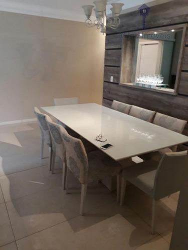 apartamento 3 dormitórios à venda, 177m², edifício center plaza, vila florinda em sorocaba/sp - ap0721