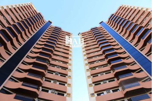 apartamento 3 dorms, 1 suíte, elev, 2 vg, são josé do rio preto - v838