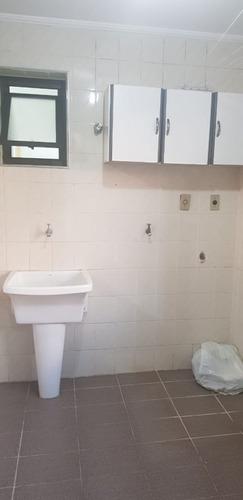 apartamento 3 dorms para locação anual no centro em mogi das - l504