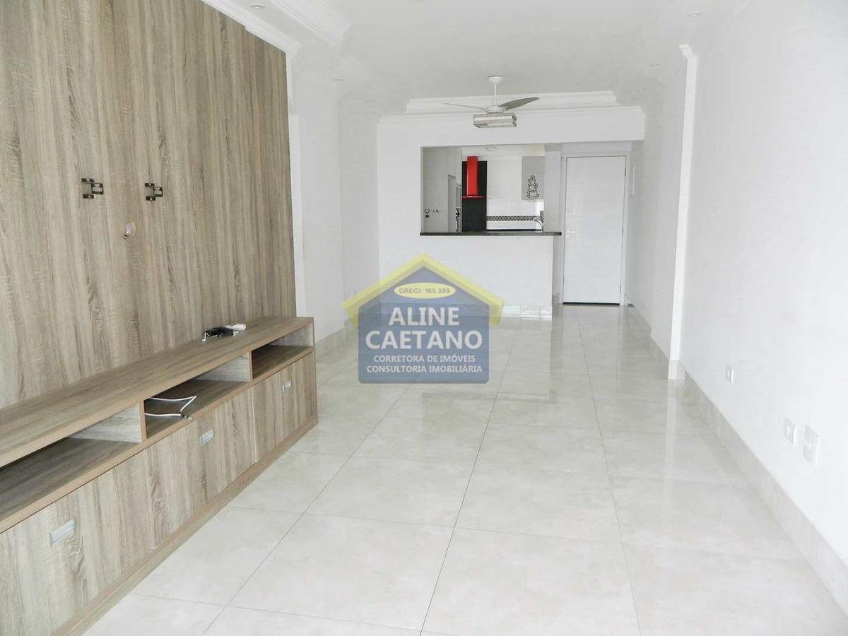apartamento 3 dorms vista mar - planejados - lindo!! - vac054271