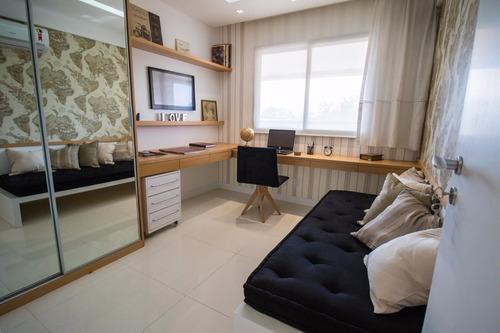 apartamento 3 quartos no recreio | you design | 2 vagas |