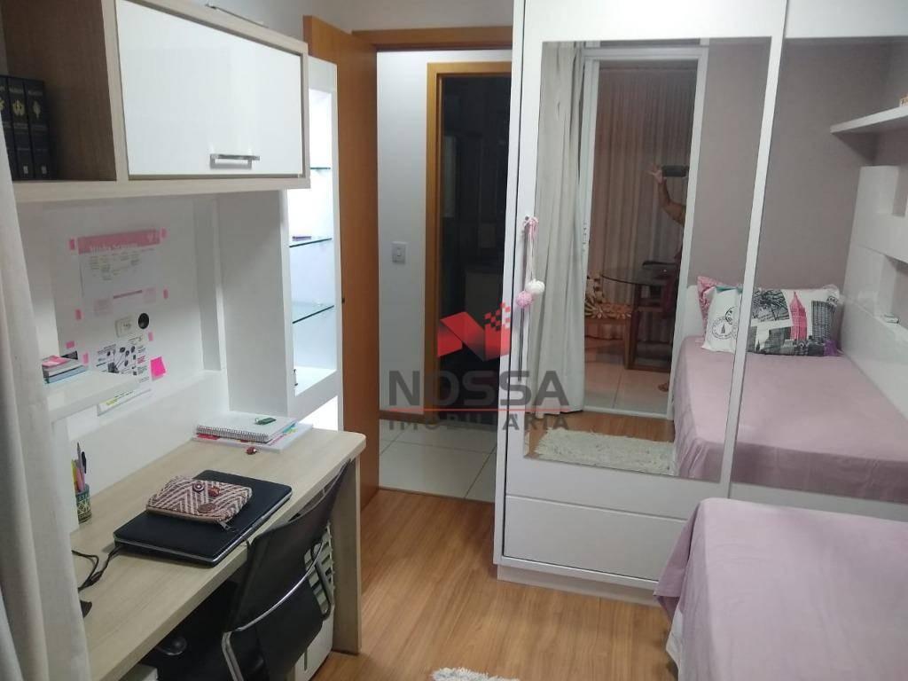 apartamento 3 quartos, suíte, finamente decorado em bento ferreira - ap0600