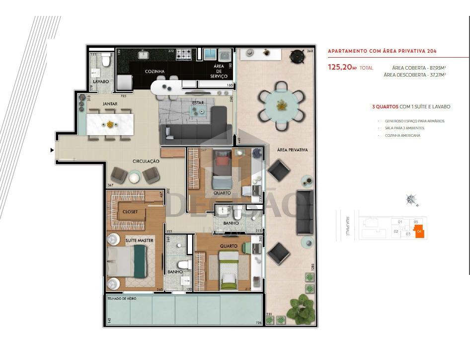 apartamento 3 quartos à venda, 3 quartos, 2 vagas, funcionários - belo horizonte/mg - 15413