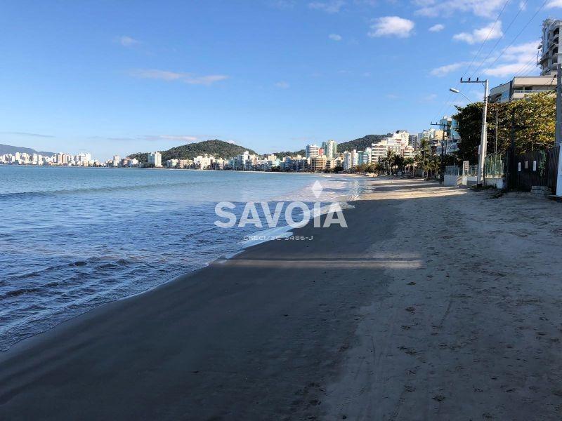 apartamento 3 suítes, 2 vagas, frente para o mar, canto da praia, itapema, sc - 2165