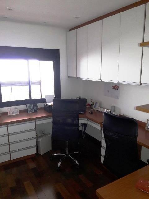 apartamento 3 suites ( 4 vagas - sacada gourmet - lazer completo ) à venda, 174,00 m² por r$ 1.430.000 - vila dayse - são bernardo do campo/sp - ap0451
