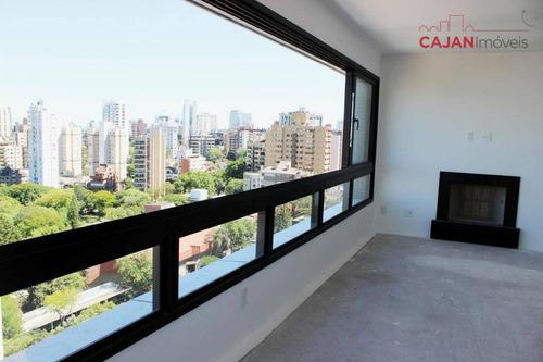 apartamento 3 suítes com 3 vagas no bairro petrópolis - ap2511