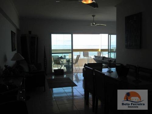 apartamento 3 suítes em praia grande no campo da aviação frente mar - ap0120