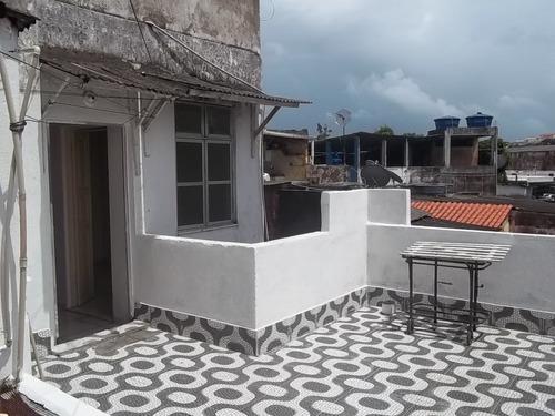 apartamento 3/4 com varanda no caminho de areia (623120)