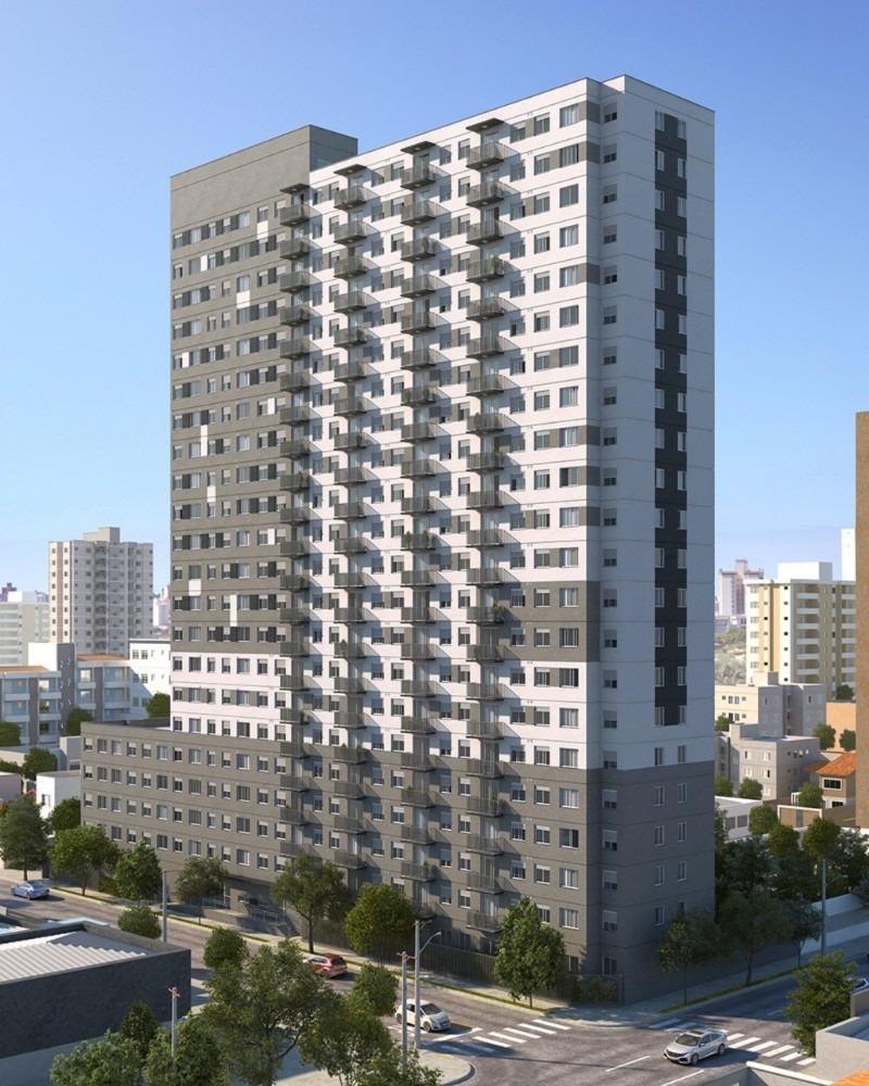 apartamento 36m² na planta a duas quadras do metrô brás