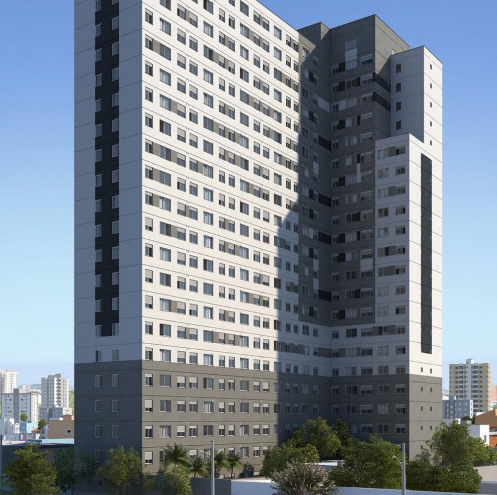 apartamento 38m² com varanda á 600 metros do metrô brás