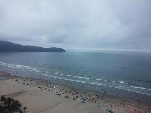 apartamento 4 dormitórios 3 suites. frente a praia. vila guilhermina, praia grande. - codigo: ap5427 - ap5427
