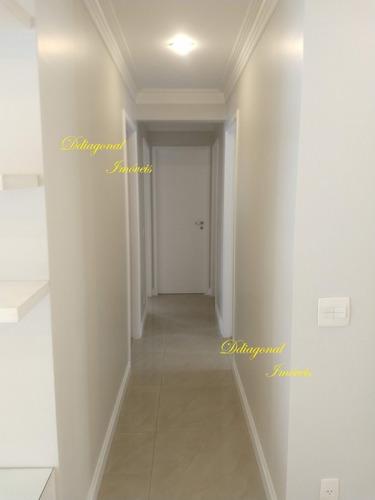apartamento 4 dormitórios, armários planejados. claudio80649