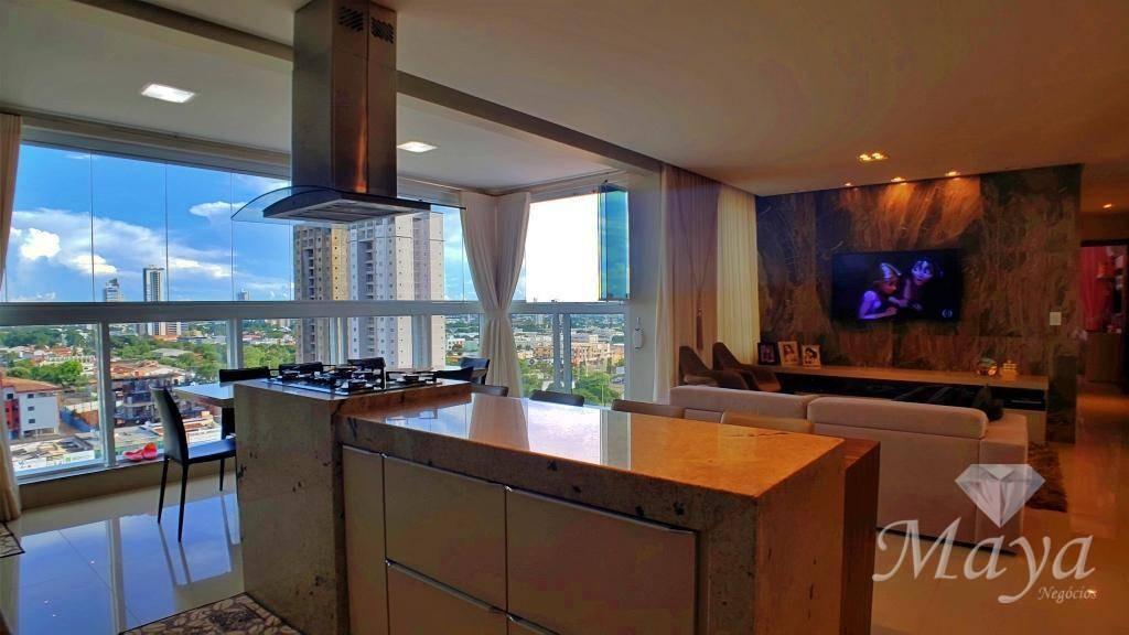 apartamento 4 quartos, 115 m² c/ armários na 106 norte - jk park residence - ap0091