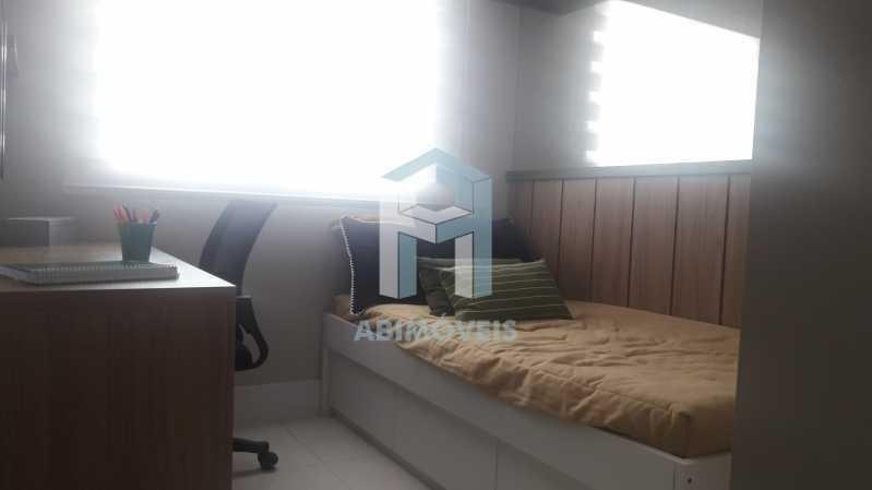 apartamento, 4 quartos 2 suítes, varanda, 2 vagas, piscina, botafogo - abap40002