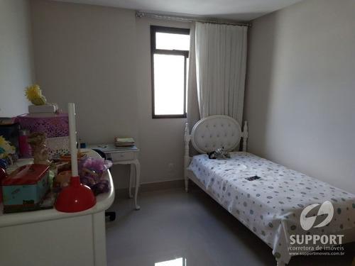 apartamento 4 quartos a venda na praia do morro - v-1457