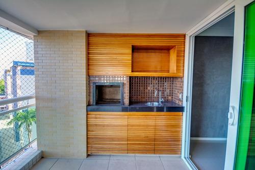 apartamento 4 quartos no cocó, lazer completo, varanda