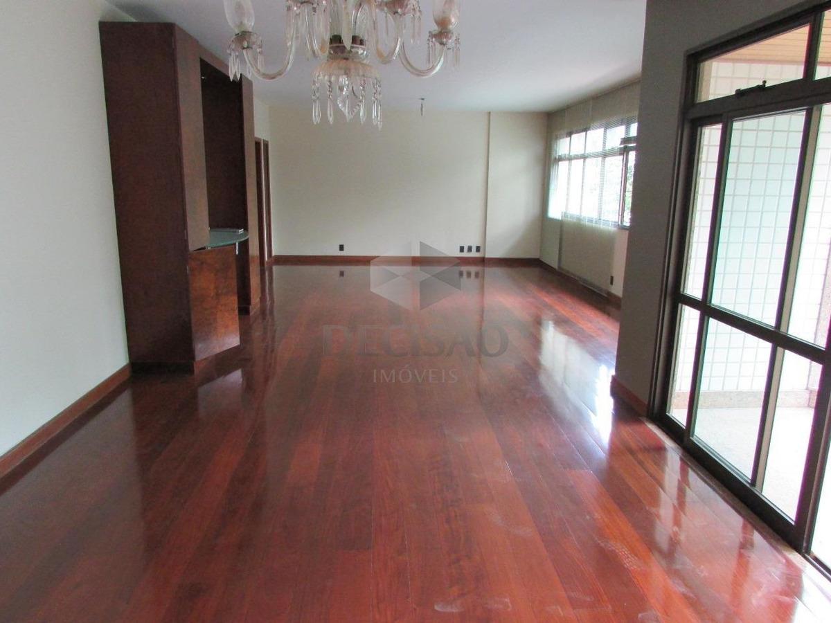 apartamento 4 quartos para aluguel, 4 quartos, 3 vagas, funcionários - belo horizonte/mg - 14943