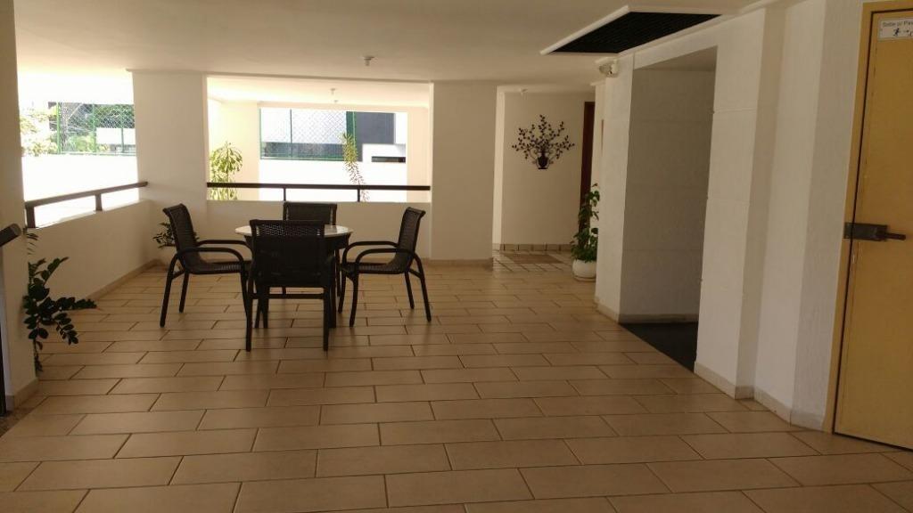 apartamento 4 quartos, suíte, 105m², infraestrutura - alto do parque - ap1247