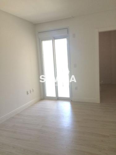 apartamento 4 suítes, 2 vagas, quadra do mar, centro de itapema - 2588