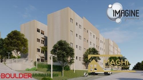 apartamento 43 m² no residencial imagine ipanema sorocaba sp - 215