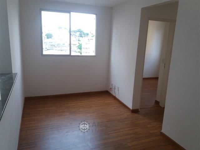 apartamento 44 m² 02 dormitórios vila rio - 3865-1