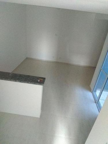 apartamento 45,52m², sem condomínio, pronto pra morar, 2 dormitórios, cozinha americana, vila floresta, santo andré. - ap1683