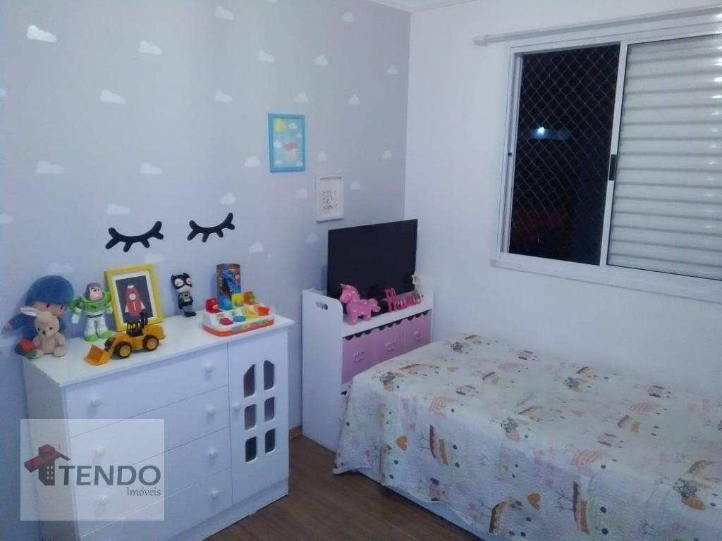 apartamento 47 m² - 2 dormitórios - vila santa luzia - são bernardo do campo/sp - ap1036