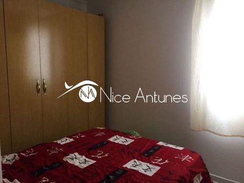 apartamento 48m², 02 dorms, 01 vaga ¿ vila amália - na8830
