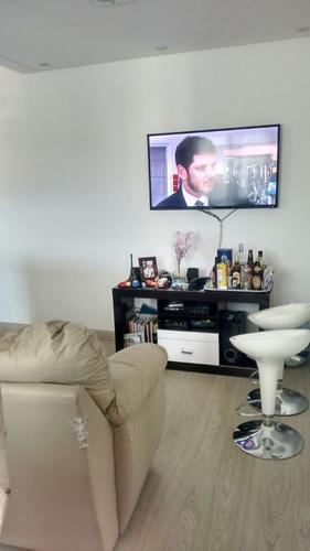 apartamento 48m² na vila palmares - santo andré - 1015