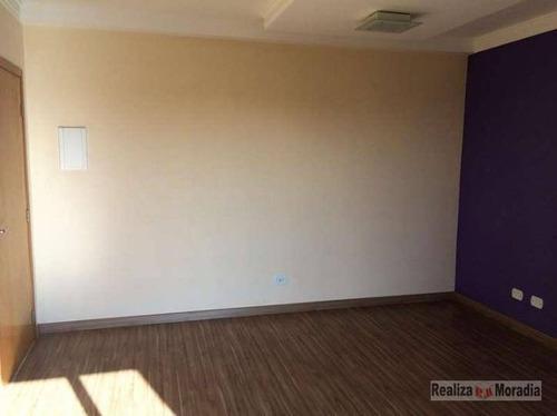 apartamento 50 m², 02 dormitórios, com sacada,  armários,  próximo a padaria deola, km 22 da raposo na granja viana - ap0492