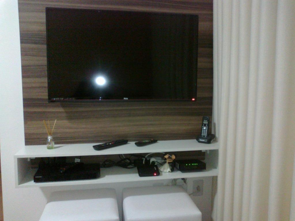 apartamento 50m², 2 dormitórios, cozinha planejada, parque são vicente, mauá. - ap1321