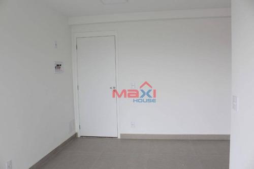apartamento 53 m², condomínio uno residencial, 2 dormitórios, 1 banheiro, 1 vaga, quitaúna, osasco. - ap0960