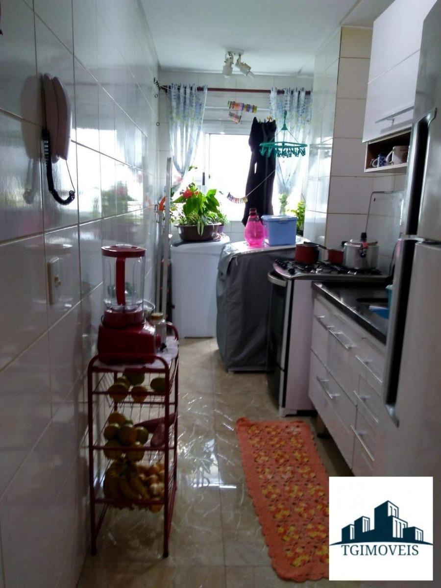 apartamento 54 metros  3 dormitorios  vaga de garagem lazer - 1062