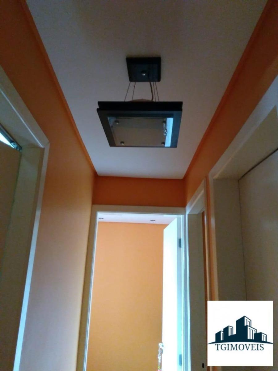apartamento 54 metros  3 dormitorios  vaga de garagem lazer - 1063