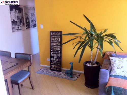 apartamento 55m², excelente localização,, 02 dormitórios, 01 vaga, pronto para morar, lazer completo - mc1783