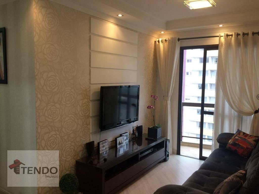 apartamento 64 m² - 3 dormitórios - baeta neves - são bernardo do campo/sp - ap0738