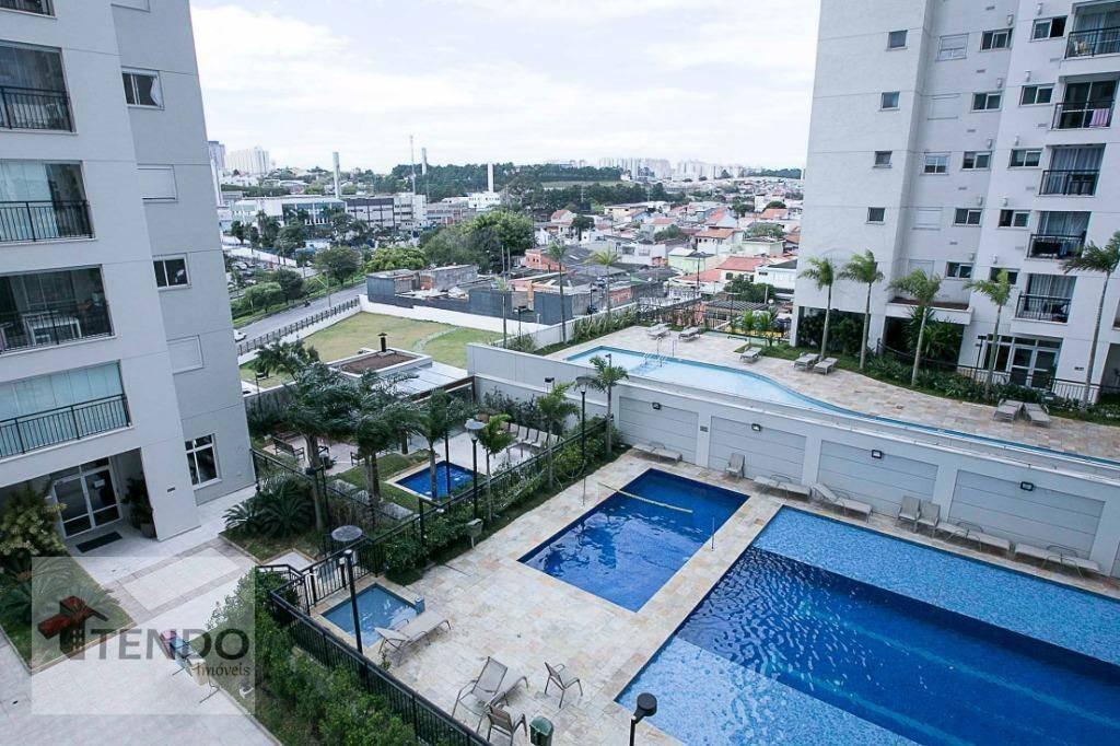 apartamento 70 m2 - 2 dormitórios - 1 suíte - independência - são bernardo do campo. - ap0312
