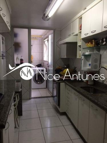 apartamento 77m², 03 dorms, próximo ao metrô santana - na8810