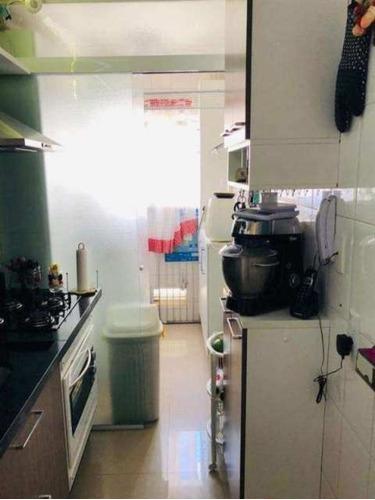 apartamento 77m² campestre 3 dormitórios / 2 vagas - ap00498 - 33626396