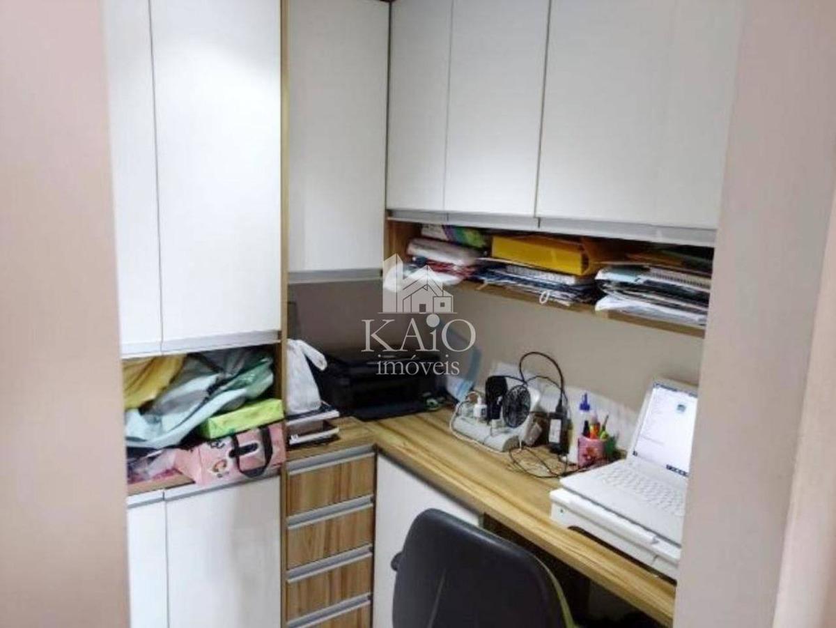 apartamento 82m² 3 domitórios, varanda gourmet, 2 vagas